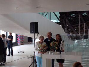 Ere-leden Margreet Staal en Jan Schutte