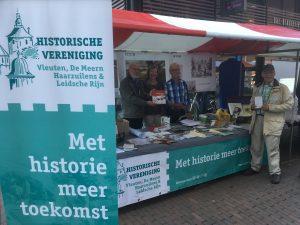 Kraampje bij ons project Van Vinex tot Vicus, september 2017