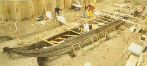 Vindplaats Romeinse boot
