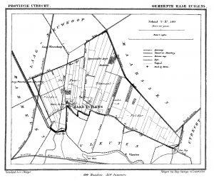 kaart gemeente Haarzuilens