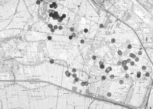 Overzicht van de vondsten in ons gebied