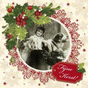 Fijne feestdagen ! (ansichtkaart)