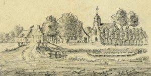 Oude tekening De Meern