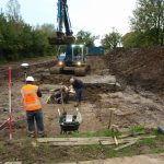 Werkzaamheden opgraving
