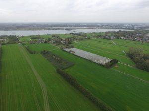 ? afd. Erfgoed gemeente Utrecht. Luchtfoto van de huidige situatie van Haarzicht vanuit het zuidoosten.