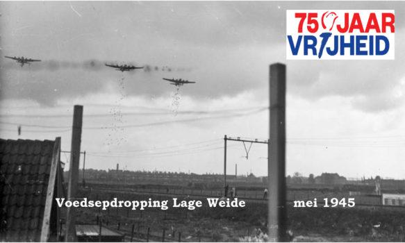 Voedseldropping Lage Weide 1945